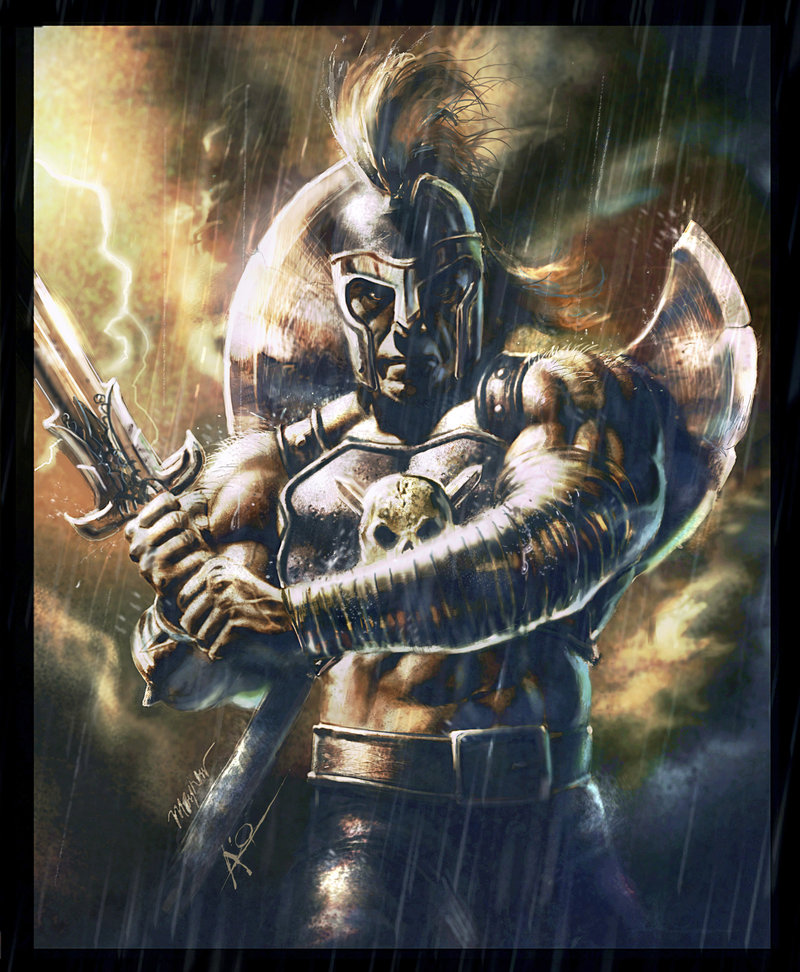 Ares (Mars) - Greek God Of War.